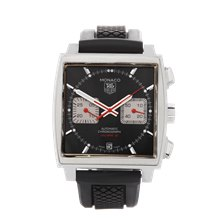 Tag Heuer Monaco Chronograph Stainless Steel - CAW2114