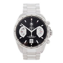 Tag Heuer Grand Carrera Chronograph 43mm Stainless Steel - CAV511A