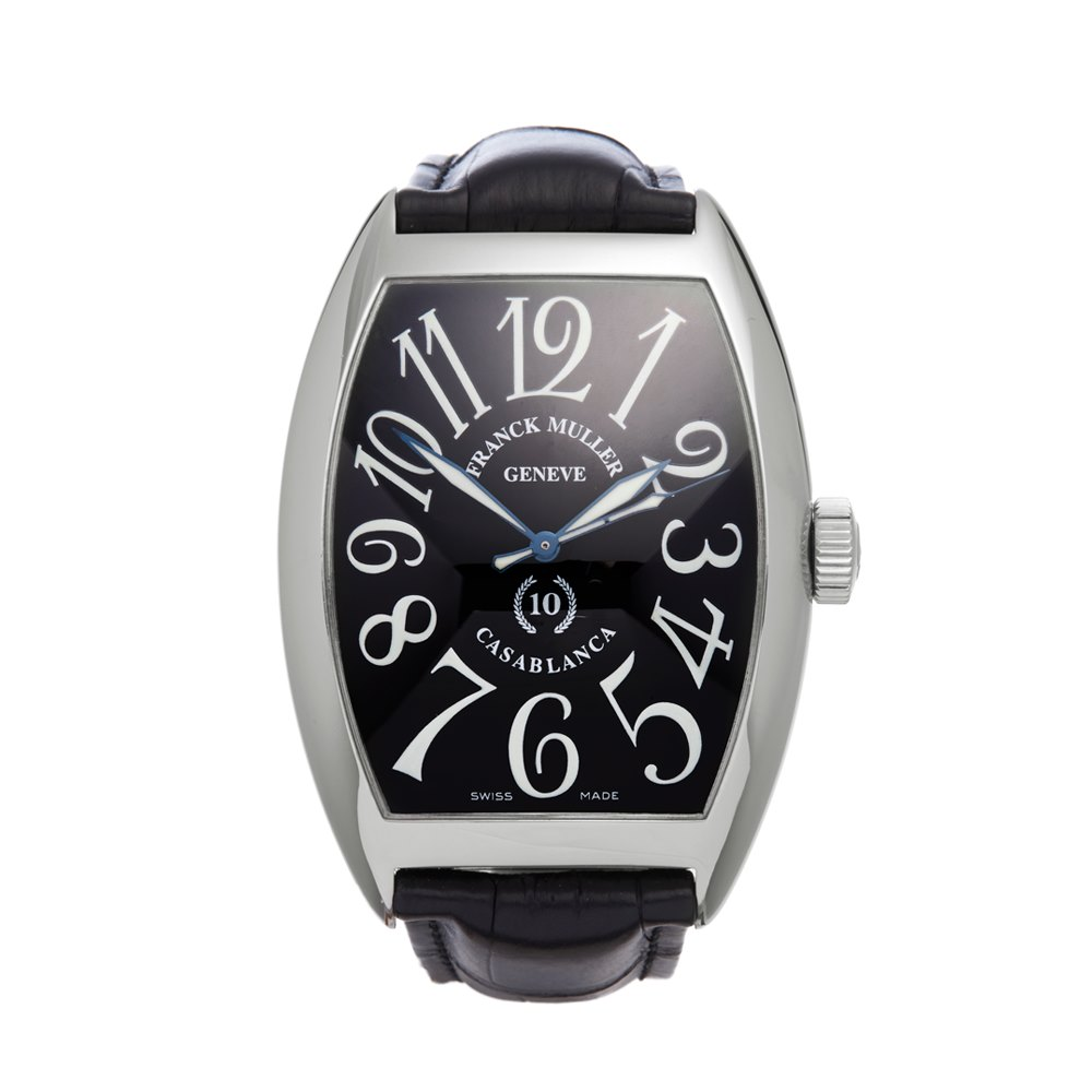 Franck muller casablanca 8880c 2010 39 s w4408 second hand watches for Franck muller watches