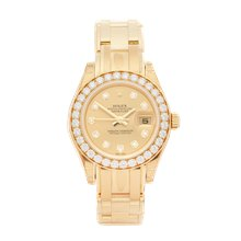 Rolex Pearlmaster 29mm 18K Yellow Gold - 80298