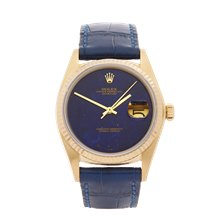 Rolex Datejust 36 Lapis Lazuli 36mm 18K Yellow Gold - 16018