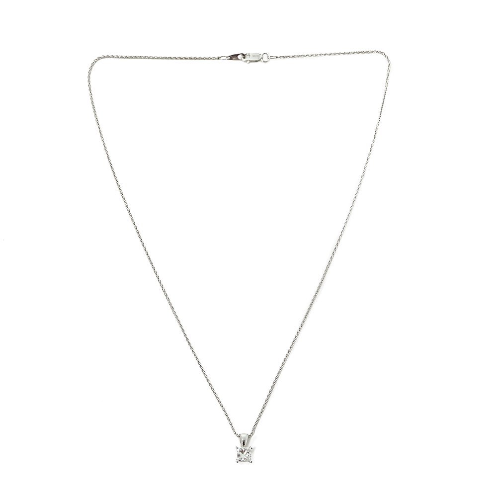 Mappin & Webb Platinum 0.70ct Diamond Necklace