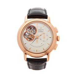 Zenith El Primero Chronomaster Chronograph 40mm 18K Rose Gold - 18.0240.4021