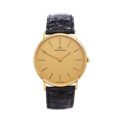 Jaeger-LeCoultre Vintage Ulta Thin 33mm 18K Yellow Gold - C.818/3