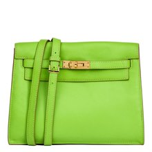 Hermès Apple Green Swift Leather Kelly Danse