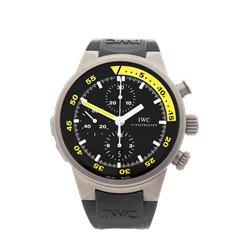 IWC Aquatimer Chronograph Split Minutes 44mm Titanium - IW372304