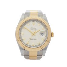 Rolex Datejust Ii 41mm Stainless Steel & 18K Yellow Gold - 116333
