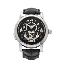 Montblanc Nicolas Rieussec Home Time 42mm Stainless Steel - 107070
