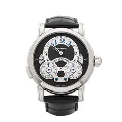 Montblanc Nicolas Rieussec Rising Hours 43mm Stainless Steel - 108790