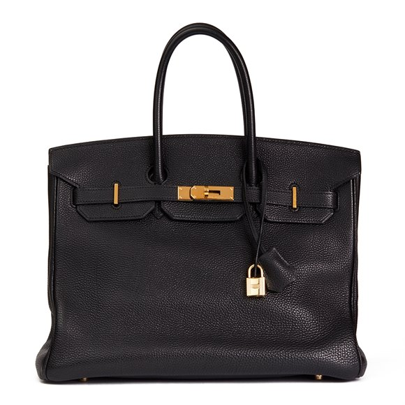 Hermès Black Togo Leather Birkin 35cm
