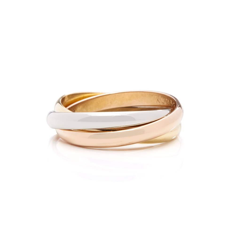 Cartier Trinity Ring Size M