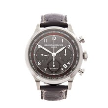Baume & Mercier Capeland Chronograph 42mm Stainless Steel - MOA10003