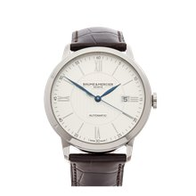 Baume & Mercier Classima 40mm Stainless Steel - M0A10214