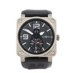 Bell & Ross GMT 42mm Titanium - BR 03-51-T-01514