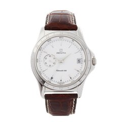 Zenith Elite Dual Time 36mm Stainless Steel - 01.0030.682