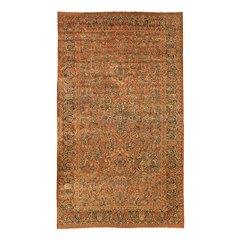 LARGE ANTIQUE 1910 AMERICAN SAROUK PERSIAN RUG