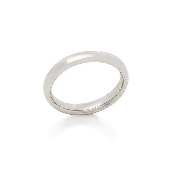 Asprey Platinum 3mm Wedding Band