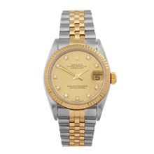 Rolex Datejust 31 Stainless Steel & 18K Yellow Gold - 68273