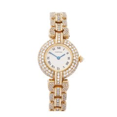 Cartier Panthere Vendome Diamonds 18K Yellow Gold - 8057
