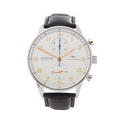 IWC Portuguese Chronograph Stainless Steel - IW371401