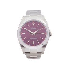 Rolex Oyster Perpetual Grape Stainless Steel - 114300