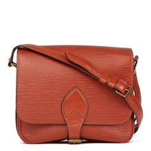 Louis Vuitton Kenyan Fawn Epi Leather Vintage Cartouchiere MM