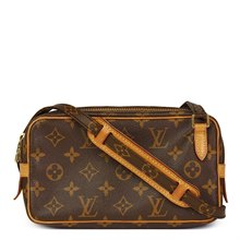 Louis Vuitton Brown Monogram Coated Canvas Marly Bandouliere