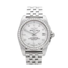 Breitling Galactic Diamond Stainless Steel - A7433053/A780