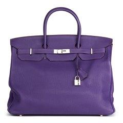 Hermès Iris Togo Leather Birkin 40cm