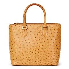 Louis Vuitton Tan Ostrich Leather Vintage Lancelot