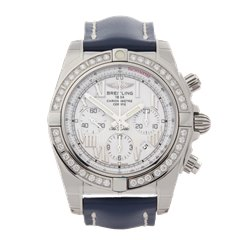 Breitling Chronomat Diamond Stainless Steel - AB011053/A690