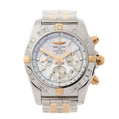 Breitling Chronomat Stainless Steel & 18K Rose Gold - IB011012/A698