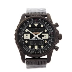 Breitling ChronoSpace Black Steel Black Stainless Steel - M7836522/BA26