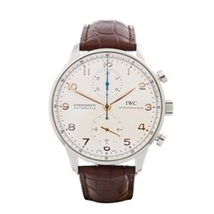 IWC Portuguese Chronograph Stainless Steel - IW371445