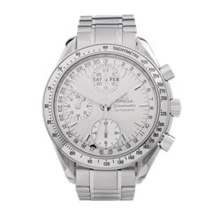Omega Speedmaster Chronograph Triple Date Stainless Steel - 3523.30.00
