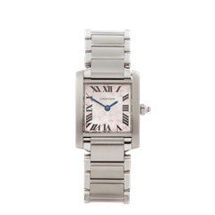 Cartier Tank Francaise Anniversary Stainless Steel - 2384 or W51008Q3