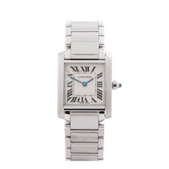 Cartier Tank Francaise Stainless Steel - 2384 or W51008Q3