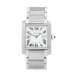 Cartier Tank Francaise Stainless Steel - 2465 or W51011Q3