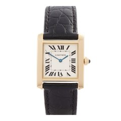 Cartier Tank Francaise 18k Yellow Gold - 1821 or W50014N2