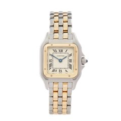 Cartier Panthere Stainless Steel & 18k Yellow Gold - 7399