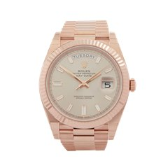 Rolex Day-Date 40 18k Rose Gold - 228235