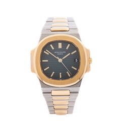Patek Philippe Nautilus Stainless Steel & 18k Yellow Gold 3800/1A