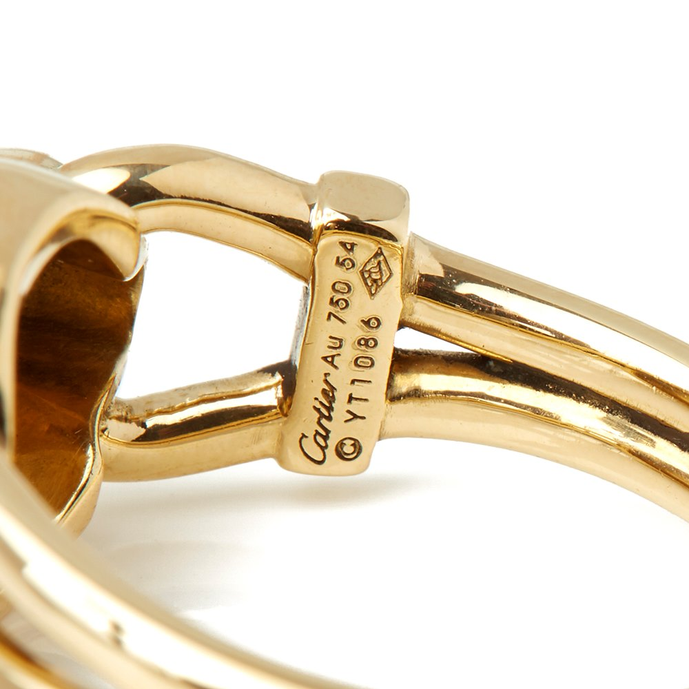 Cartier 18k Yellow Gold Panthère Ring