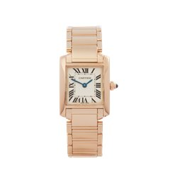 Cartier Tank Francaise 18k Rose Gold - W500264H