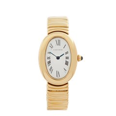 Cartier Baignoire 18k Yellow Gold - W15045D8 or 1954