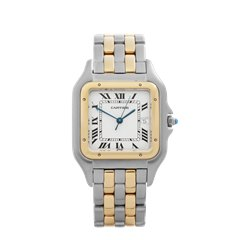 Cartier Panthere Stainless Steel & 18k Yellow Gold - 8395