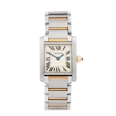 Cartier Tank Francaise Stainless Steel & 18k Yellow Gold - 2384 or W51007Q4