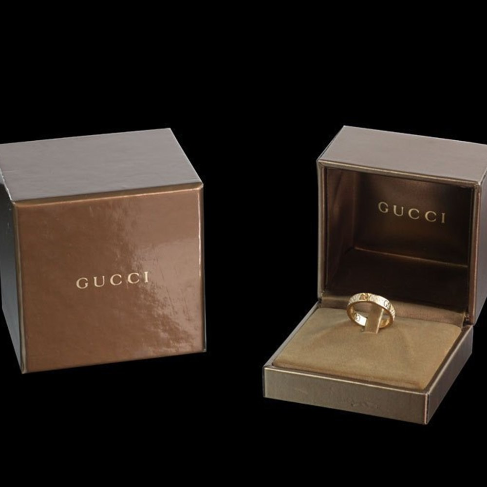 Gucci Icon Stardust 18ct Yellow Gold & Diamond Ring
