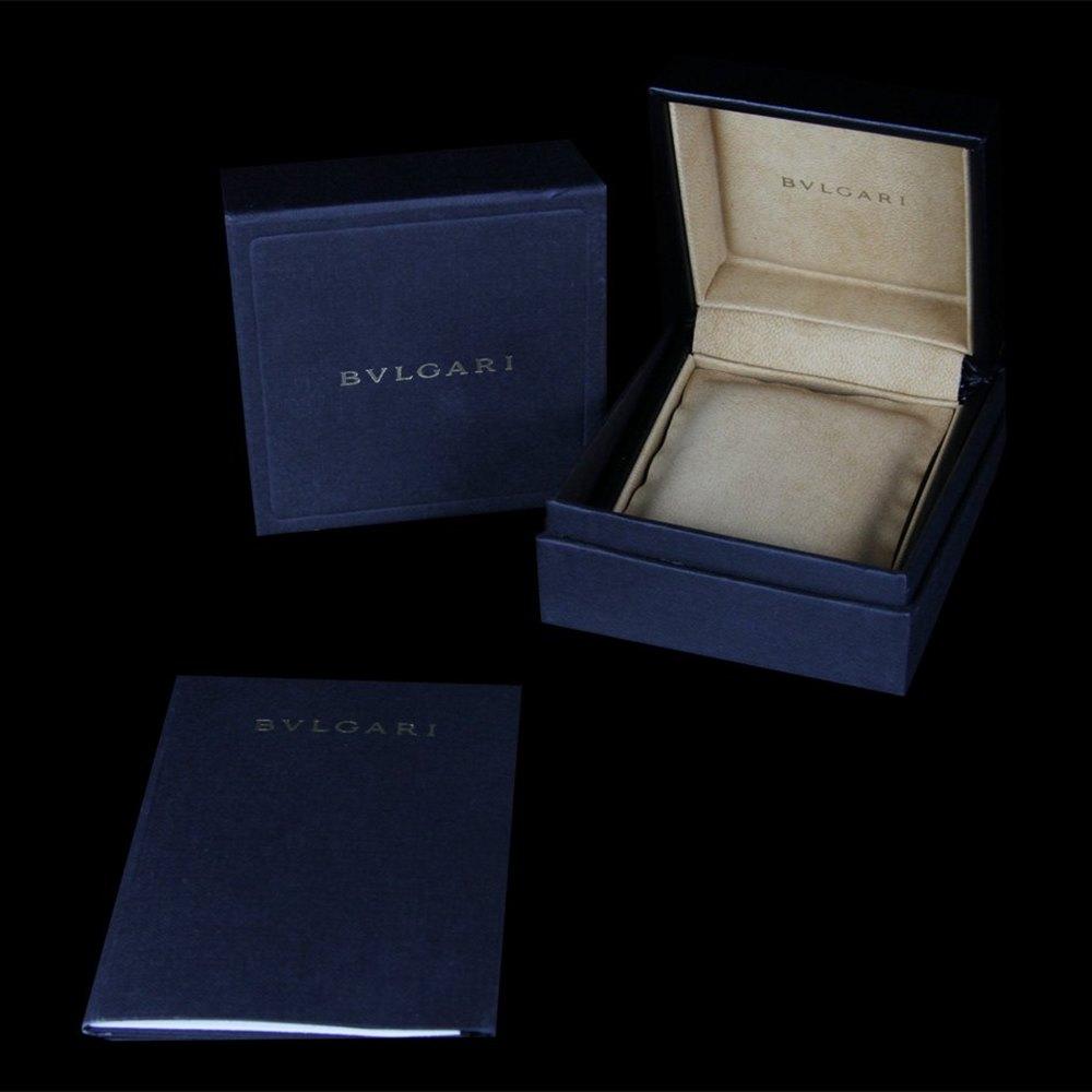 Bvlgari (or Bulgari)B Zero 1 18k White Gold Amethyst & Blue Topaz Pendant Necklace
