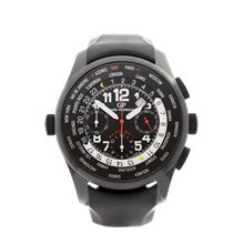 Girard Perregaux WW.TC Shadow Flyback Chronograph 43mm Black Dlc Coated Stainless Steel - 49820-32-611-FK6A